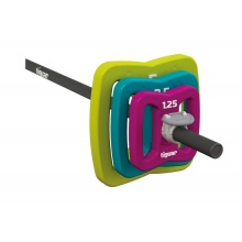 Tiguar Powergym Langhantel-Set im Butterfly Design - 17,5kg