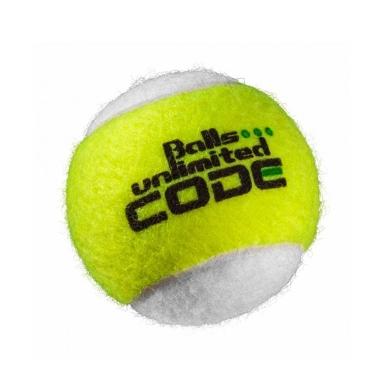 Balls Unlimited Code Green Trainingsball gelb/weiss 60er Beutel