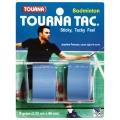 Tourna Tac Badminton Overgrip 2er blau