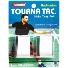Tourna Tac Badminton Overgrip 2er weiss
