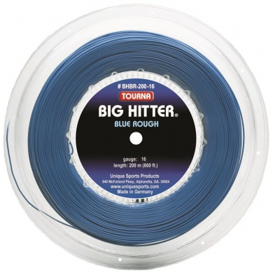 Tourna Big Hitter Rough blau Tennissaite 220m Rolle