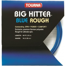 Besaitung mit Tourna Big Hitter blue ROUGH
