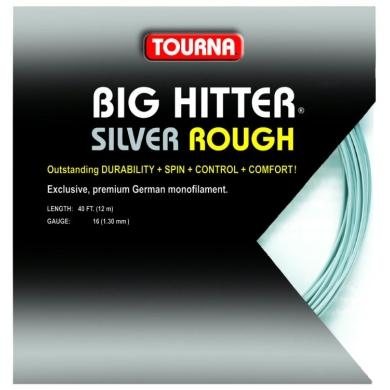 Tourna Big Hitter silver ROUGH Tennissaite