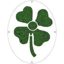 Tourna Logoschablone Kleeblatt