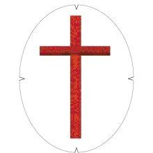 Tourna Logoschablone Kreuz