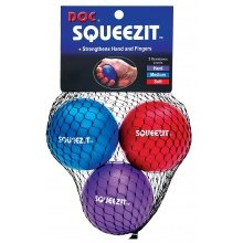 Tourna Squeeze It 3er Pack (für Hand- und Fingertraining)