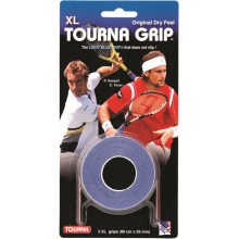 Tourna Grip XL Overgrip 3er blau