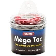 Tourna Mega Tac Overgrip 30er schwarz
