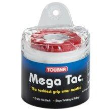 Tourna Mega Tac Overgrip 30er weiss