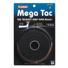 Tourna Mega Tac Overgrip 10er schwarz