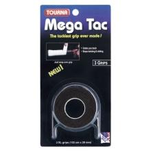 Tourna Mega Tac Overgrip 3er schwarz