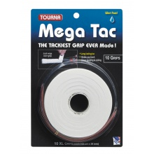 Tourna Mega Tac Overgrip 10er weiss