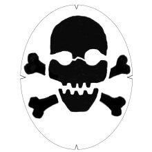 Tourna Logoschablone Totenkopf