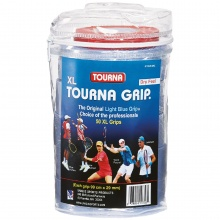 Tourna Grip XL Overgrip Tour Pack 50er blau