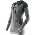 X-Bionic Apani Merino Shirt Long Sleeves 2017 schwarz/grau/pink Damen