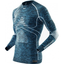 X-Bionic Energy Accumulator Evo Melange Shirt Long Sleeves 2016 blau Herren
