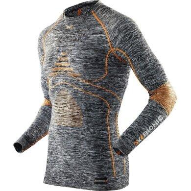 X-Bionic Energy Accumulator Evo Melange Shirt Long Sleeves 2016 grau Herren