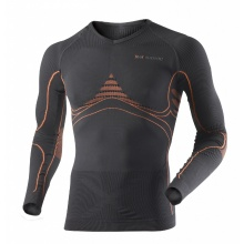 X-Bionic Energy Accumulator Extra Warm Longsleeve charcoal/orange Herren
