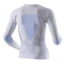 X-Bionic Energy Accumulator Extra Warm weiss/skyblue Longsleeve Damen