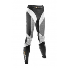 X-Bionic Running Effektor Power Pant Long schwarz/weiss Damen