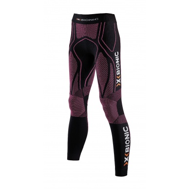 X-Bionic Running The Trick Pant Long schwarz/pink Damen