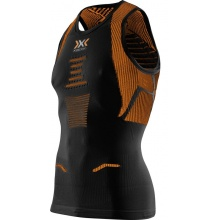 X-Bionic Running The Trick Singlet 2017 schwarz/orange Herren