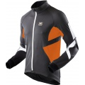 X-Bionic Bike Jacke Winter Spherewind schwarz/orange Herren