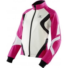 X-Bionic Bike Jacke Winter Spherewind pink/weiss Damen
