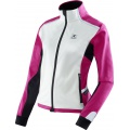X-Bionic Running Jacke Winter Spherewind 2015 weiss/pink Damen