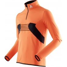 X-Bionic Longsleeve Raccoon Zip Up 2017 orange Herren