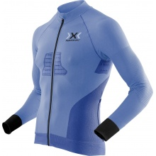X-Bionic Bike Race EVO Shirt Full Zip 2017 blau Herren