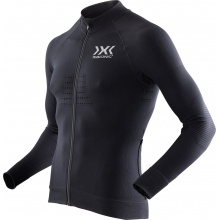 X-Bionic Bike Race EVO Shirt Full Zip 2017 schwarz Herren