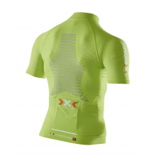 X-Bionic Bike Effektor Power Tshirt Full Zip lime Herren