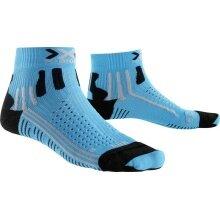 X-Socks Laufsocke Effektor XBS Short türkis Damen