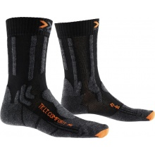 X-Socks Trekkingsocke Light Comfort schwarz/orange Herren