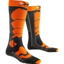 X-Socks Skisocke Control 2.0 anthrazit/orange Herren