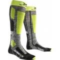 X-Socks Skisocke Rider 2.0 2016 grau/lime Herren