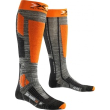 X-Socks Skisocke Rider 2.0 2016 grau/orange Herren