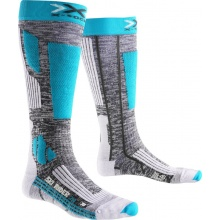 X-Socks Skisocke Rider 2.0 2016 grau/türkis Damen