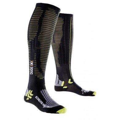 X-Socks Laufsocke Effektor XBS Performance schwarz/lime (Weite L)