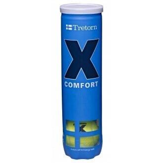 Tretorn X Comfort Trainingsbälle gelb 4er