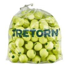 Tretorn Stage 1 green Methodikbälle gelb 72er Polybag