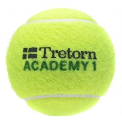 Tretorn Stage 1 green Methodikball gelb einzeln