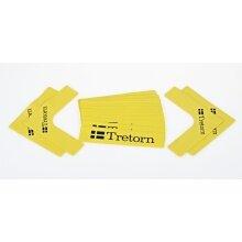 Tretorn Markierungslinien gelb SET (16 Teile)
