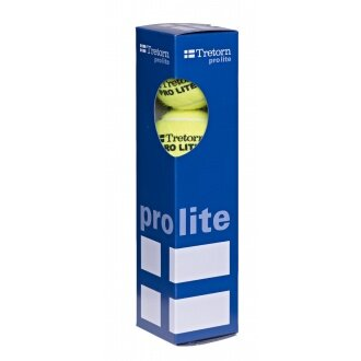 Tretorn Pro Lite Trainingsbälle gelb 4er