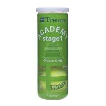 Tretorn Stage 1 green Methodikball gelb 3er