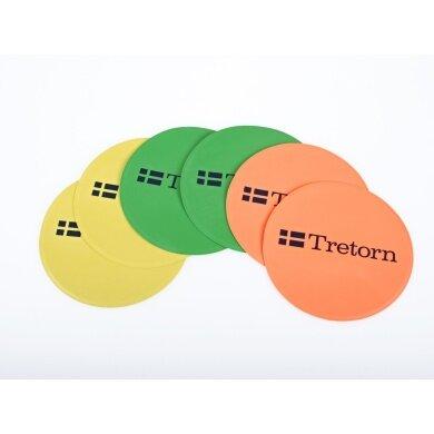 Tretorn Markierungsscheiben (6 Stück sortiert)