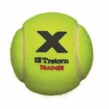 Tretorn X Trainer Trainingsbälle gelb 72er inkl. Eimer