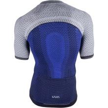 UYN Alpha Kurzarmshirt Bike 2019 blau/grau Herren