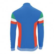 UYN Natyon Funktionsjacke Strick - Knitted 2nd Layer Full Zip - Italy blau Herren